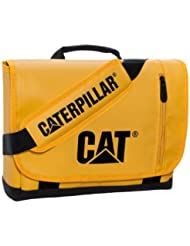 CAT Bryce Messenger Bag, Black/Cat Yellow, One Size