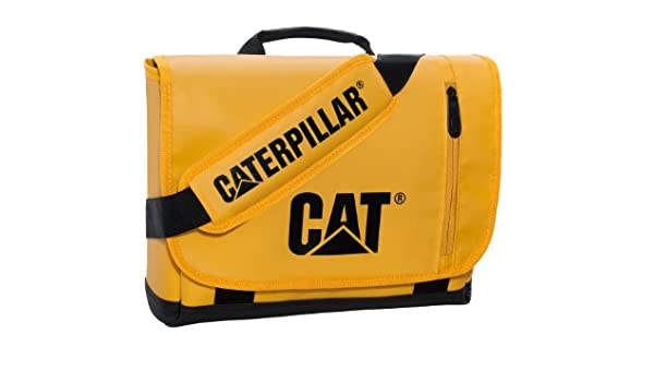 Caterpillar - Bolso Bandolera Adulto Unisex, Amarillo y Negro ...