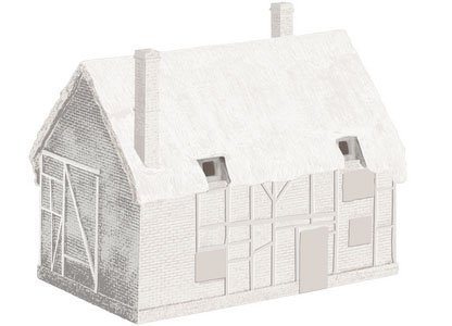 Hornby R9643 Derelict Cottage No. 1 (Unpainted) by -
