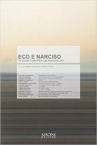 Book Eco e Narciso: 14 scrittori per un paesaggio