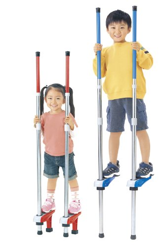 NEW Sports stilts two-stage (blue) (japan import)