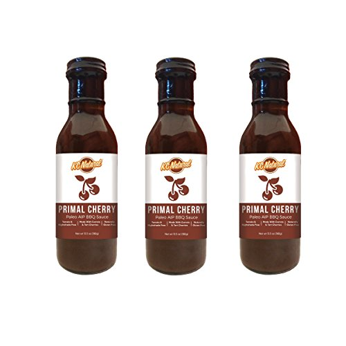 KC Natural Primal Cherry Paleo AIP BBQ Sauce - 3-pack - Natural Bbq Sauce