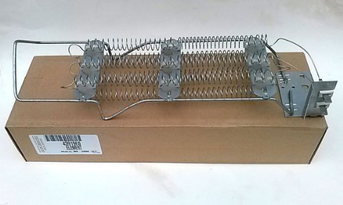 OEM Factory Original Genuine Whirlpool Kenmore Dryer Heating Element Part # 696579 or 4391960 (Replaces Old #'S 279218, 279247, 279248, 279410, 279411, 279455, 279478, 279598, 279698, ()