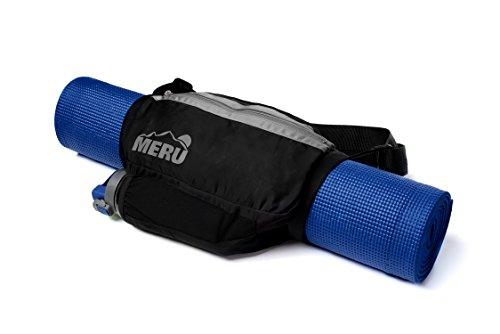 Meru Lite-Gear Yoga Mat Bag, Crossbody Carrier Sling Bag with Water Bottle Holder. Fits All Sized...