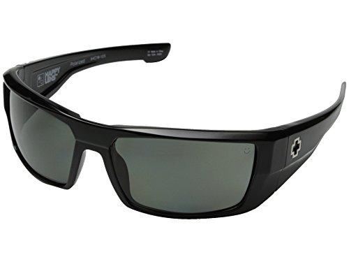 Spy Optic Dirk Sunglasses, Black Frame, Grey Lens, - Spy Sunglasses Dirk Optic