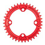EASTERN-POWER-Mountain-Bike-Corona-30T-32T-34T-36T-BCD-104-mm-Corona-30323436-Denti-Singola-MTB-in-Alluminio-RossoNero
