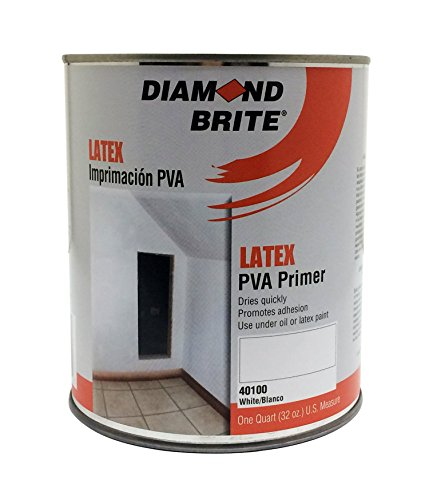 diamond brite paint 40100 1 quart interior exterior latex pva primer. Black Bedroom Furniture Sets. Home Design Ideas