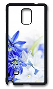 Adorable Blue White Flowers Hard Case Protective Shell Cell Phone Ipod Touch 5