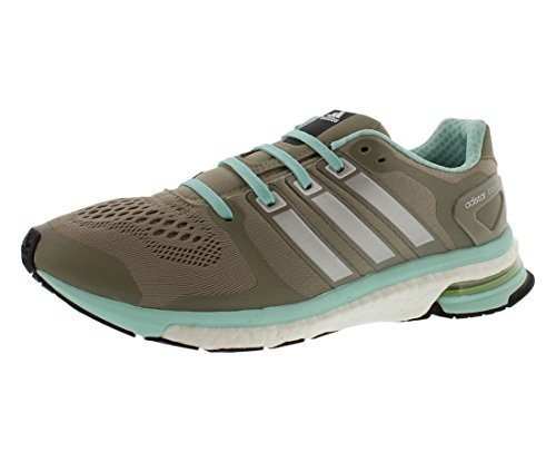 Adidas Bar Racks - adidas Energy Boost Reveal Women's Running Shoes Size US 8.5, Regular Width, Color Taupe/Silver/Mint