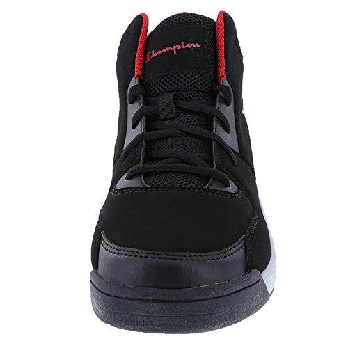 Champion Mens Black Grey Mens Overtime Basketball Shoe 7 Regular