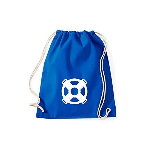 Azul Tela Mujer Shirtstown De Algodón Para Bolso Cobalto 1UPwqZ