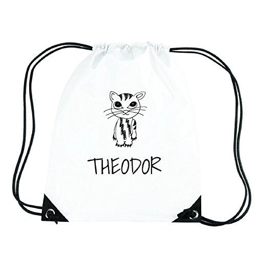 JOllipets THEODOR Turnbeutel Sport Tasche PGYM5970 Design: Katze