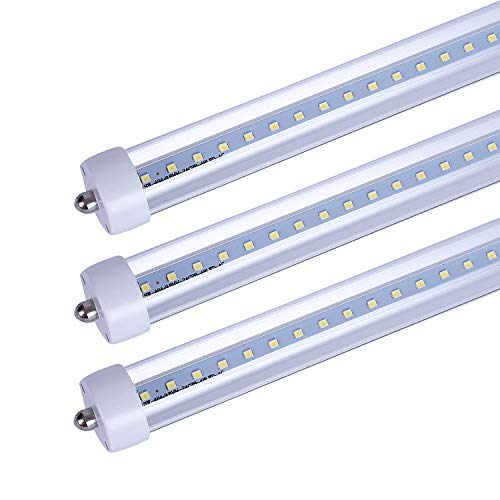 CNSUNWAY LIGHTING 8FT LED Tube Lights, 96
