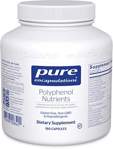 Pure Encapsulations - Polyphenol Nutrients - Hypoallergenic Nutrient Dense Multivitamin/Mineral Formula - 180 Capsules