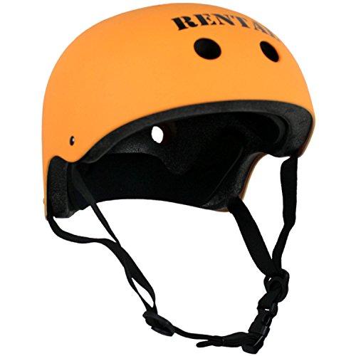 Krown Helmet (Rental), One Size, Neon Orange by Krown
