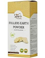 Spierb Fullers Earth Powder Indian Healing Clay Bentonite Clay Multani Mitti Mud Powder for Face Mask Pure Multani Clay Powder 100% Natural, 250gm