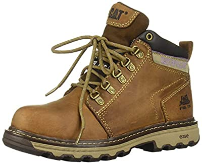 Caterpillar Women's Ellie Steel Toe / Dark Beige Work Boot