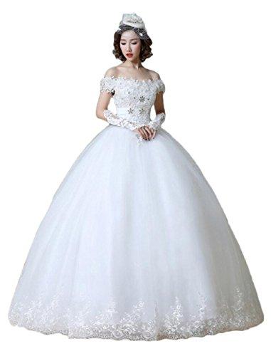 Ivory1 KA Damen Kleid Beauty Empire Rw0qBfaw