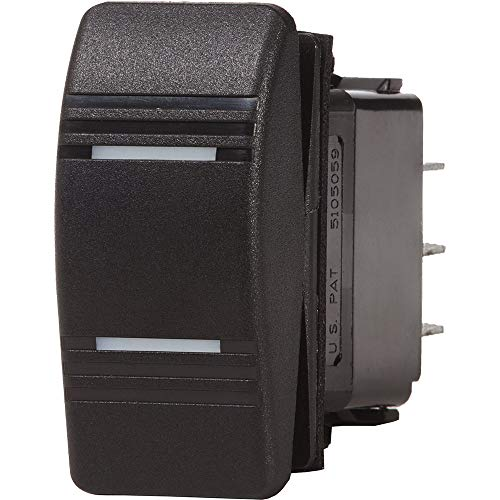 Blue Sea Contura Switch DPDT Black - ON-ON [8300]