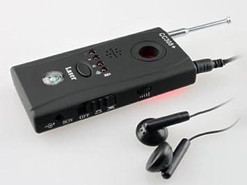 Replace Cc308 Detector de micrófonos GSM, microcaméras y trazadores espía: Amazon.es: Electrónica