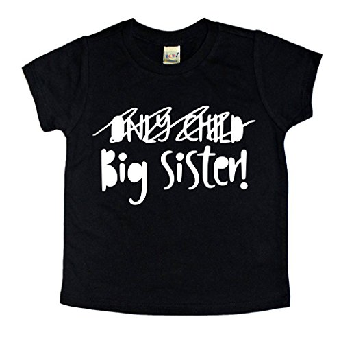 Future Big Sister New Baby Pregnancy Announcement T-shirt for Daughter