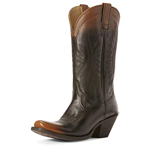 ARIAT Women's Circuit Salem Western Boot Chocolate Ombre Size 11 B/Medium Us