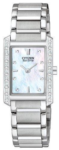 Citizen Women's EX1130-50D Palidoro Eco-Drive Stainless Steel Diamond Palidoro Watch