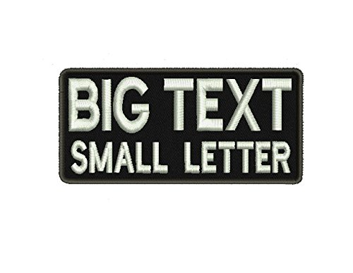 Letter Custom Backing Personalized Military product image