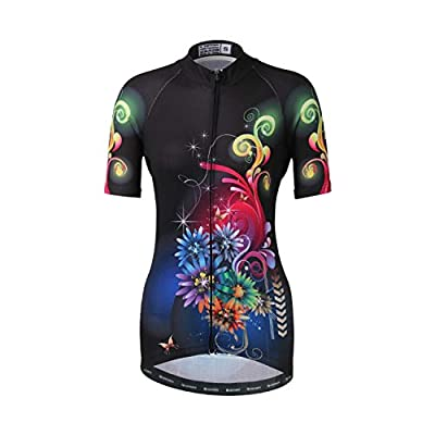 DuShow Women Quick Dry Breathable Mountain Clothing Cycling Short Sleeve Jersey Bike Top