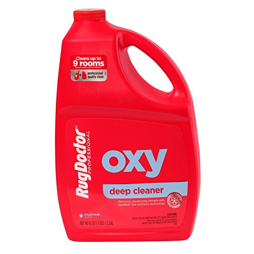 Rug Doctor Oxy Deep Cleaner Solution for Rental Cleaners, Non-Toxic Deodorizing Formula with Oxygen Power to Lift Stains and Spots, 96 oz. by Rug Doctor (Image #2)