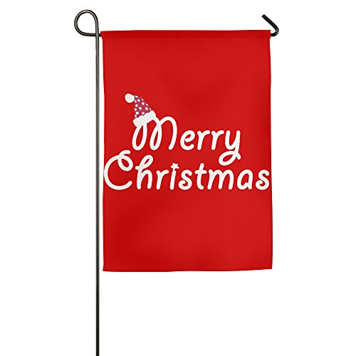 merry-christmas-hat-polyester-home-garden-flag-1218inch