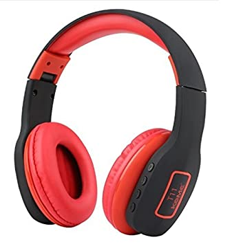 Buy Komc T11 4 1 Stereo Wireless Bluetooth Headset Bluetooth Headphones Black Red Online At Low Prices In India Amazon In