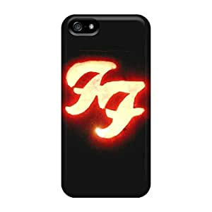 CharlesPoirier Apple Iphone 5/5s Scratch Resistant Cell-phone Hard Cover Provide Private Custom Fashion Foo Fighters Skin [XUI12413pDIg]