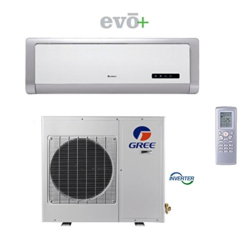 gree-evo-premium-efficiency-12000-btu-ductless-mini-split-air-conditioner-w-inverter-heat-remote-115