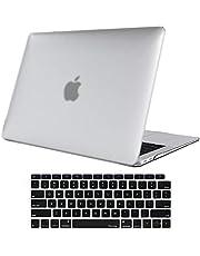 ProCase MacBook Air 13 Inch Case 2020 2019 2018 Release A2179 A1932, Hard Case Shell Cover for MacBook Air 13-inch Model A2179 A1932 with Keyboard Skin Cover-Clear