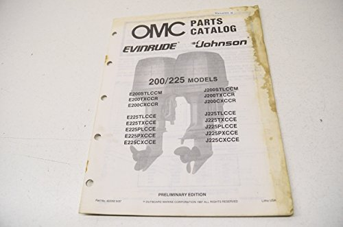 alog 200 & 225 Models QTY 1 (Omc Parts Catalog)