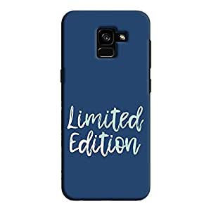 Cover It Up - Limited Edition Blue Galaxy A8 2018 Hard Case