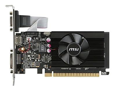 MSI Gaming GeForce GT 710 2GB GDDR5 64-bit DirectX 12 Low Profile Graphic Card