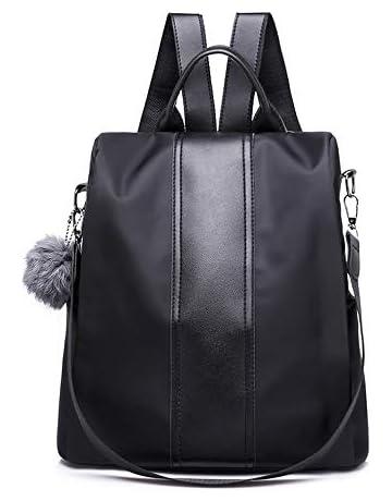 40aca2b13 Segater® Women Backpack Purse Waterproof Nylon Anti-theft Rucksack Shoulder  Bags 2 Ways Convertible
