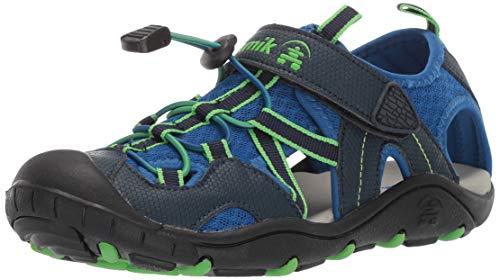 Kamik Boys' Electro Sandal, Blue, 10 M US Toddler