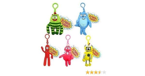 Amazon.com  Basic Fun - Yo Gabba Gabba Key Clip - SET of 5 (Brobee ... d4a1c788e517