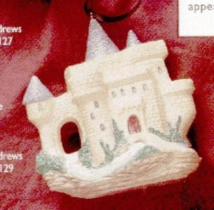 QK1129 European Castle Teapot Invitation to Tea 1995 Hallmark Showcase Ornament -