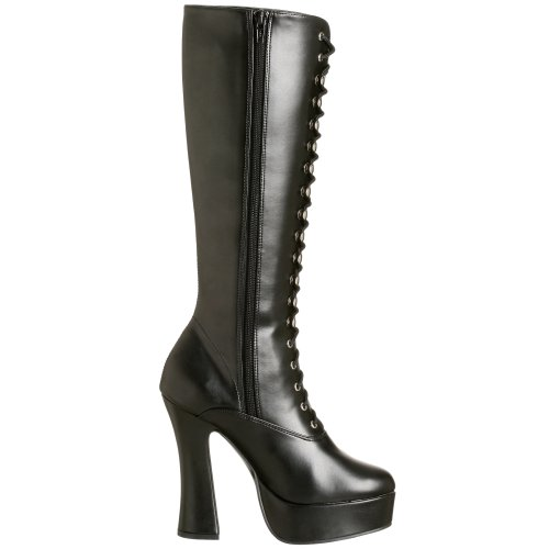 Womens Pleaser Electra Boots 2020 Leather Faux Blk 6TqdT