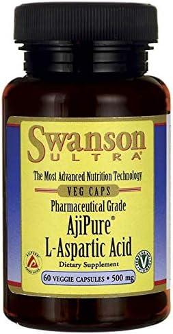 Swanson Amino L Aspartic Milligrams Capsules product image