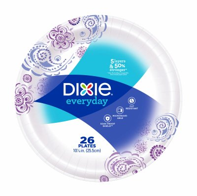 Dixie Everyday 10 1/16'' 26ct Paper Plates by True Value