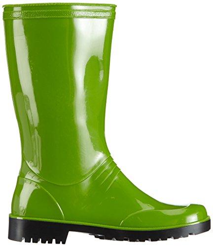 para Grün Botas 08 Iris groen Mujer De PVC Agua Chuva Dameslaars Grün wnpYZxCqqF