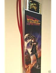 BACK TO THE FUTURE Movie Film Cell Bookmark Memorabilia Collectible Complements Poster Book Theater