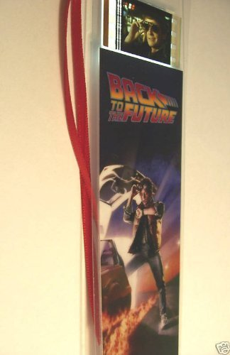 BACK TO THE FUTURE Movie Film Cell Bookmark memorabilia Compliments poster dvd book -