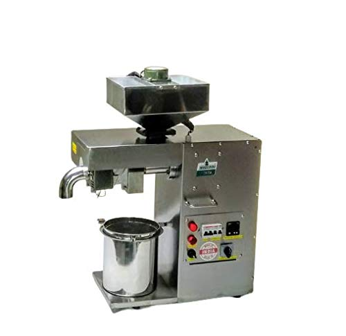 SEEDS 2 Oil S2O-10A Penta Commercial Oil Extractor Machine and Cold Press Oil Machine (Silver)