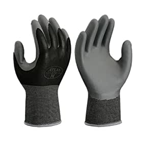 Atlas 370XL Nitrile Tough Assembly Grip 370 Work Gloves, Extra Large